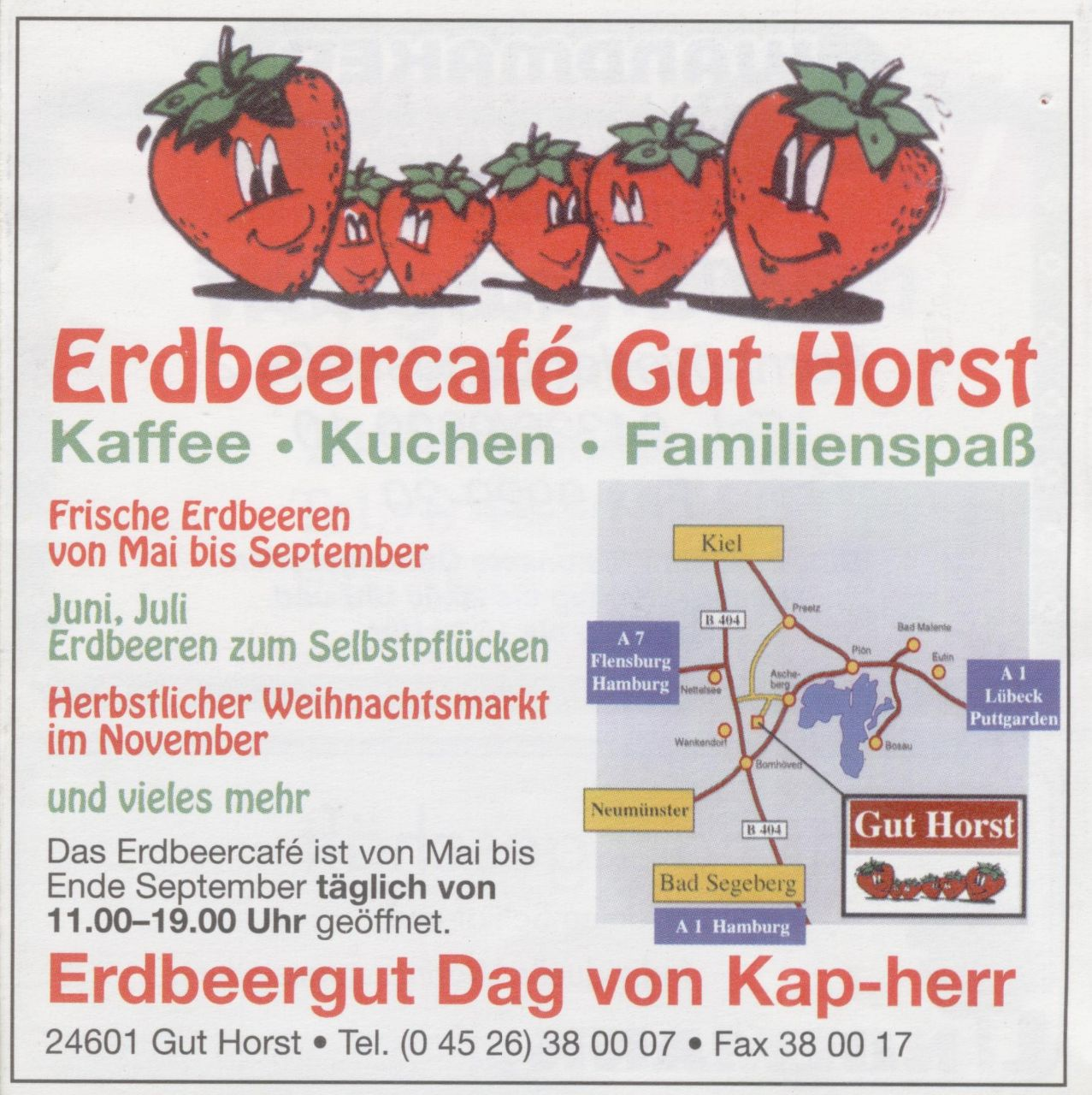 Erdbeercafé Gut Horst