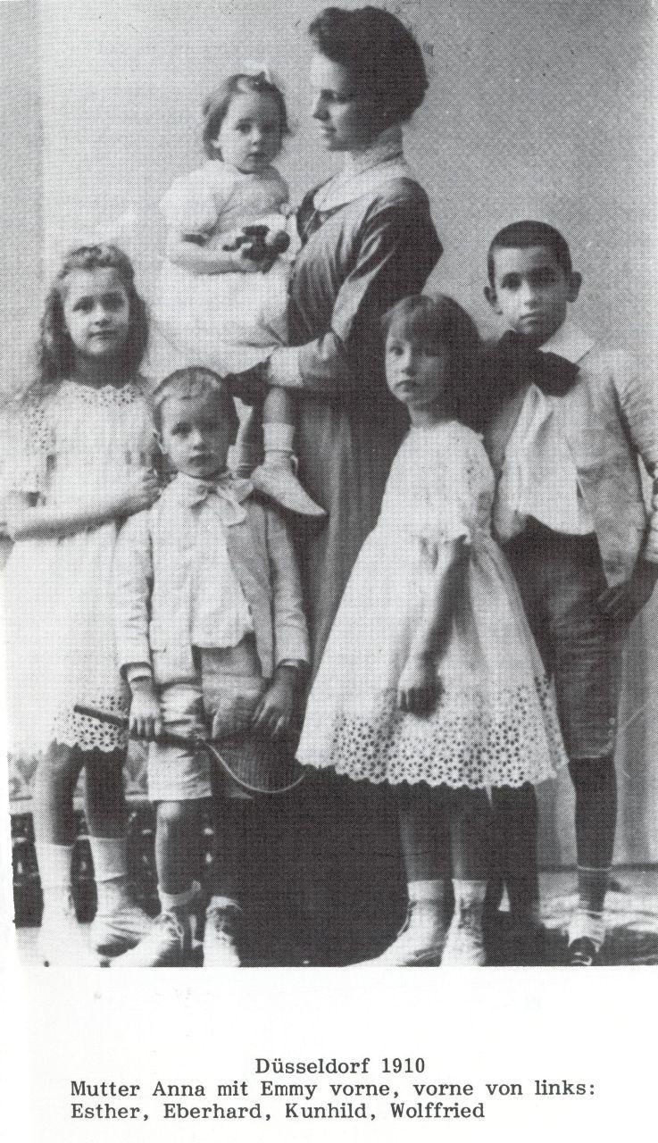 Familie Dürckheim 1910