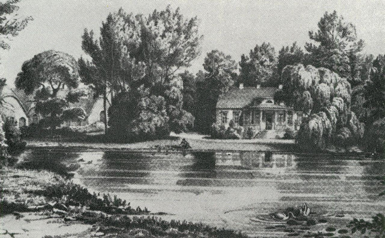 Herrenhaus Bundhorst um 1880