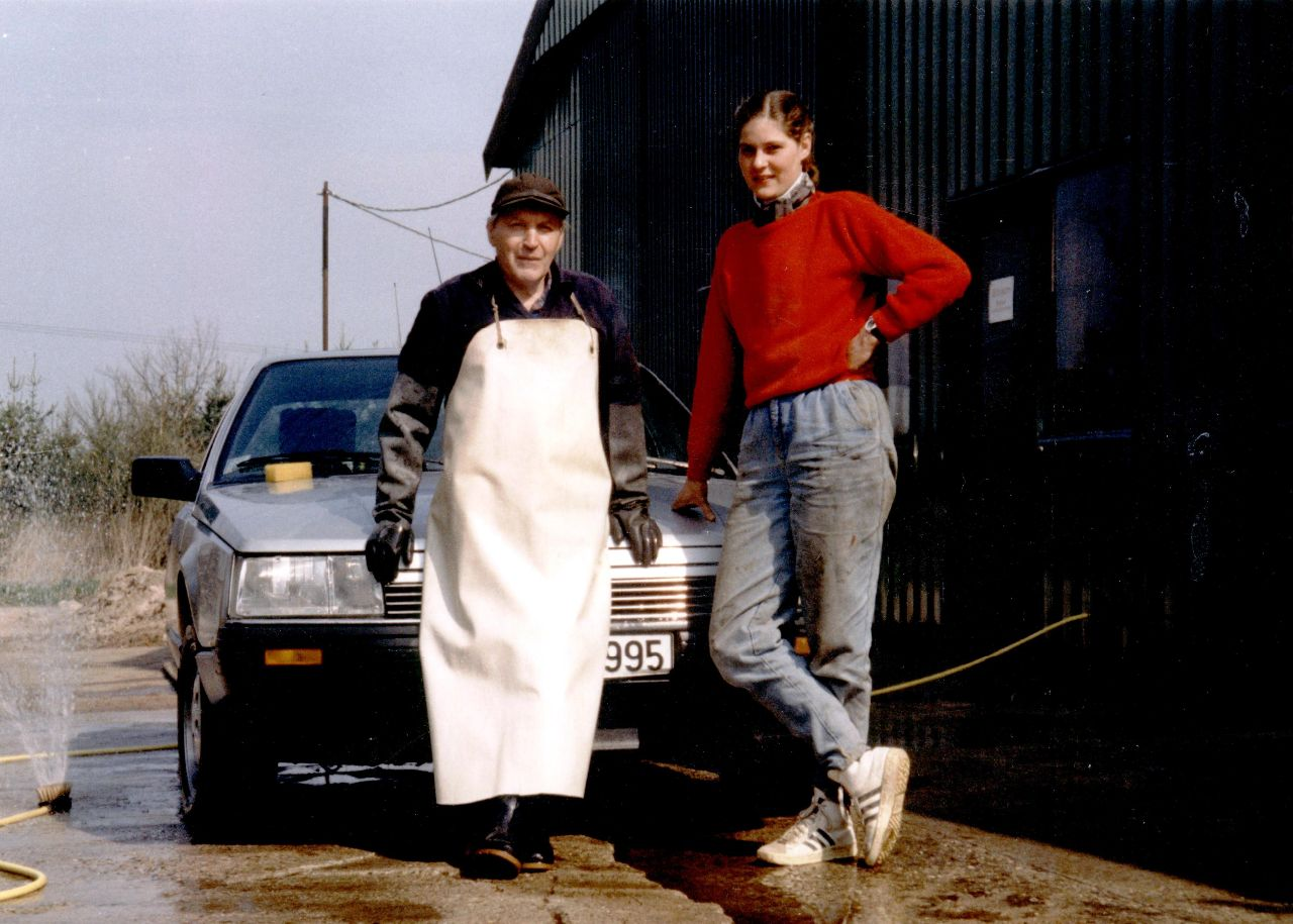 Rudi Holzinger und Marion
