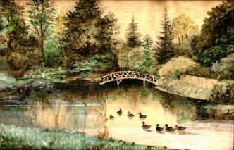 Teich im Park von Gut Horst