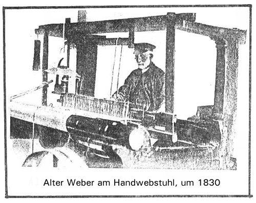 Handweber um 1830