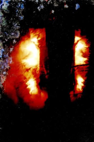Brand auf Bundhorst 1991