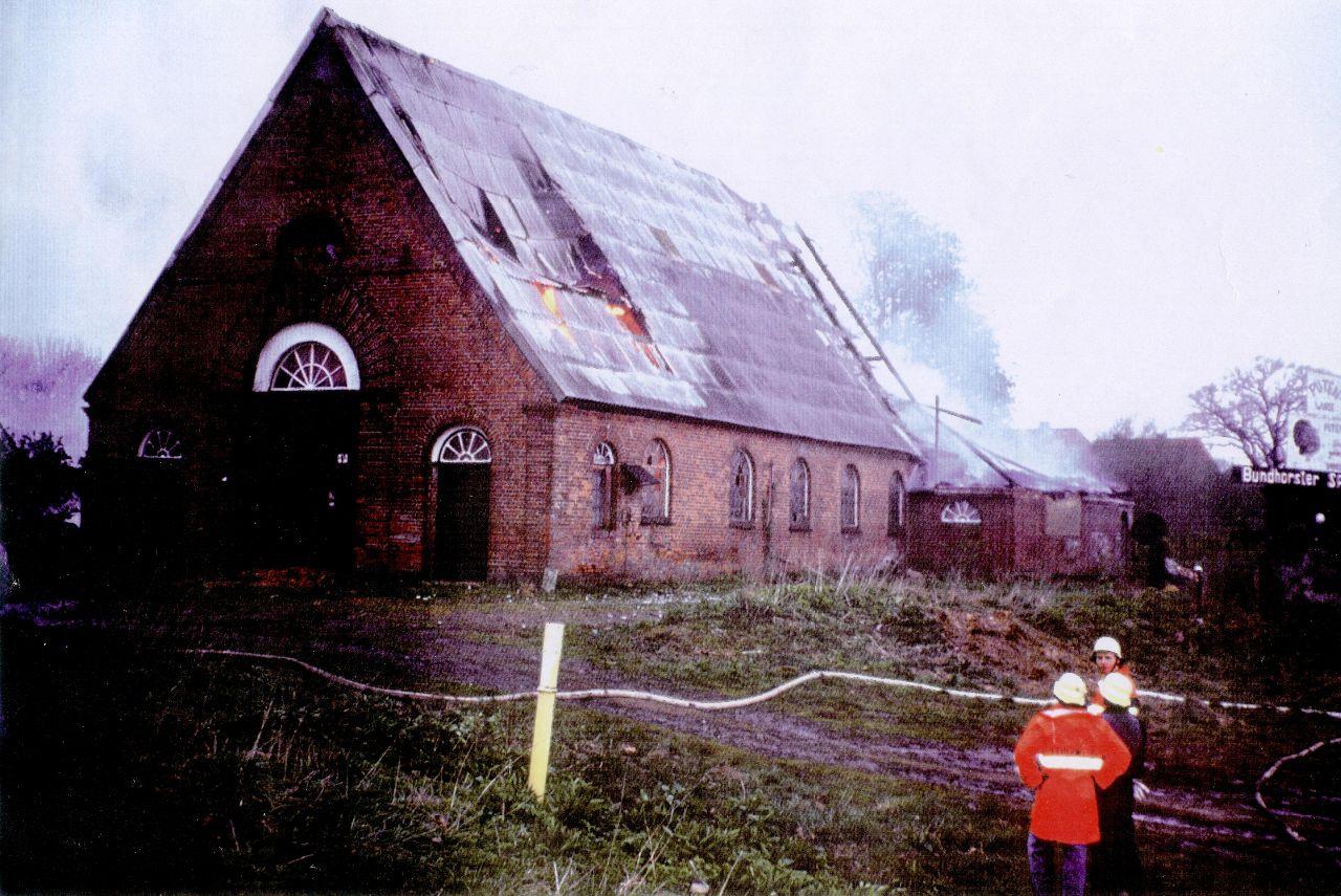 Brandeinsatz am 22.4.1991