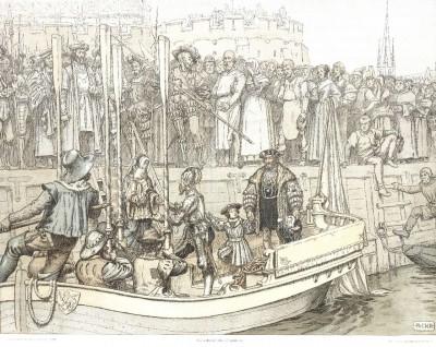 Christian II. verlässt DK