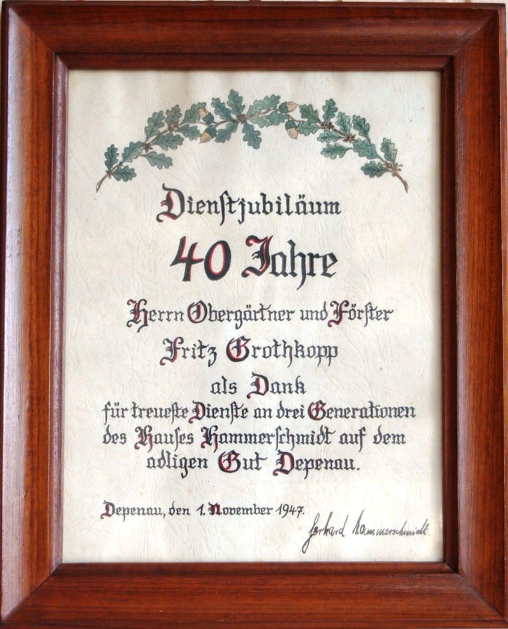 Einladung 40 Jähriges Dienstjubiläum – biblesuite.co
