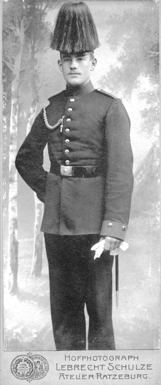 Fritz Grothkopp als Soldat