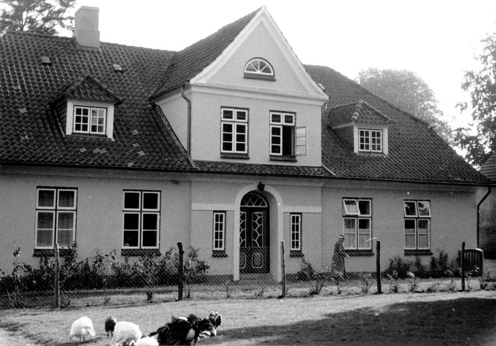Gutshaus  Bundhorst mit Großmutter Wandhoff