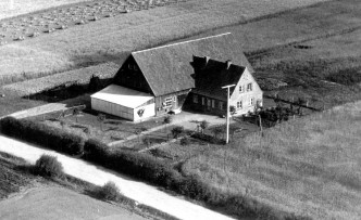 Luftbild Hof Pukall 1954