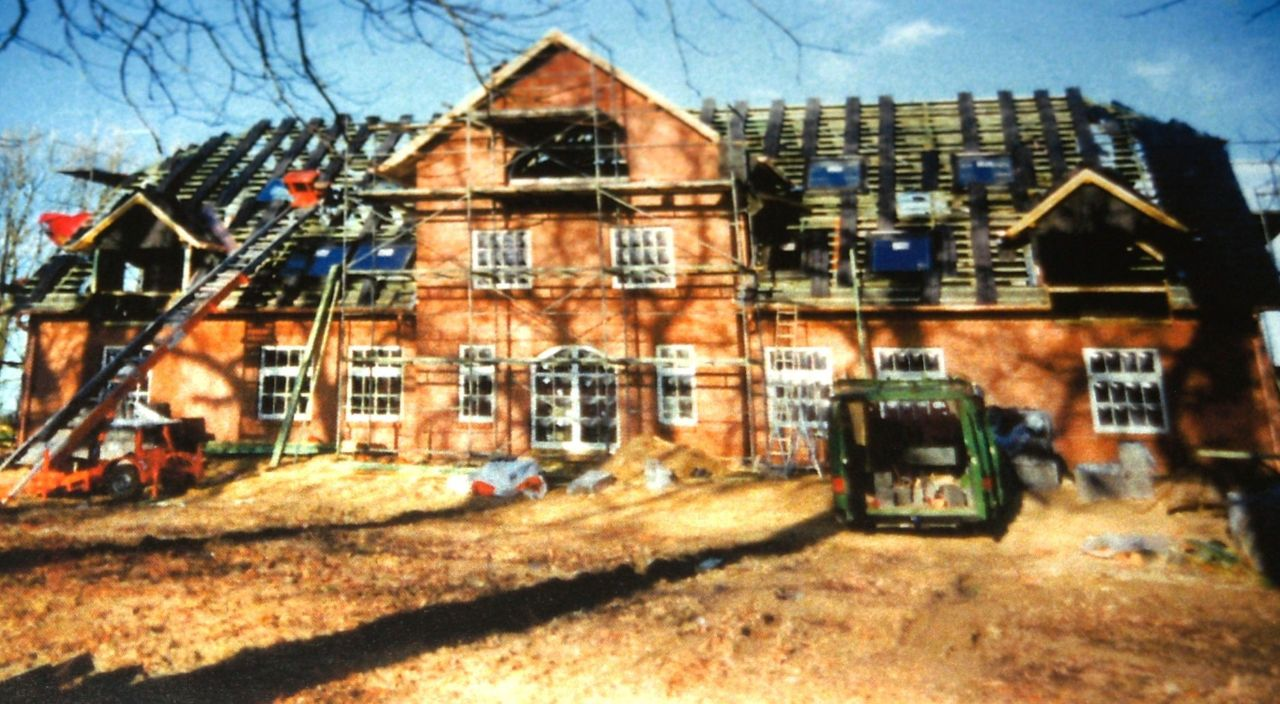 Neubau des Verwalterhauses