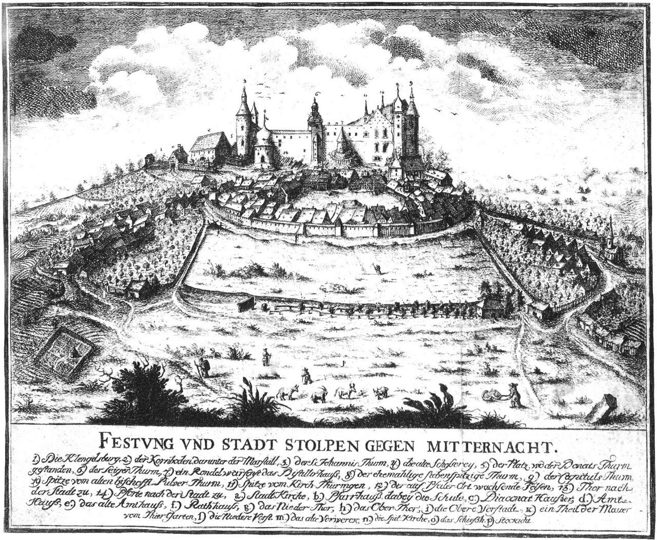 Stolpen um 1750