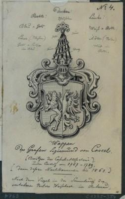 Wappen Sigismund von Cosel
