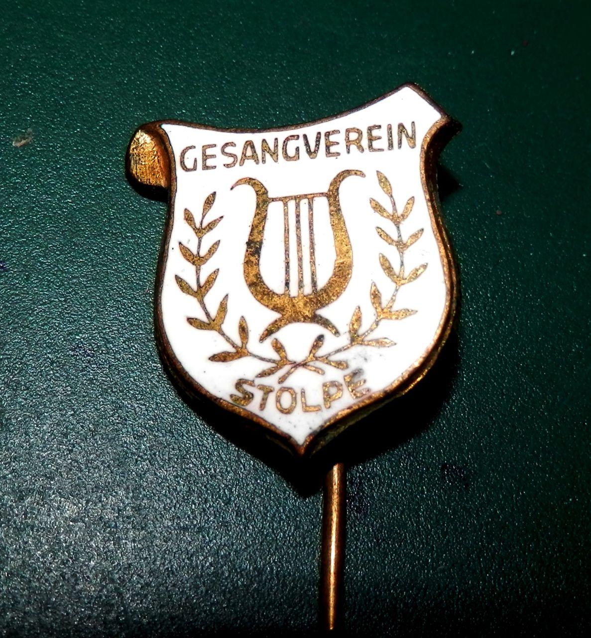 Anstecknadel Gesangverein