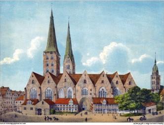 Hamburg.Domkirche.1800