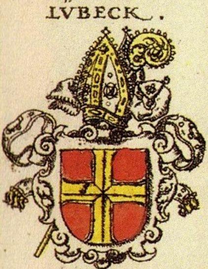 Wappen des Lübecker Bischofs