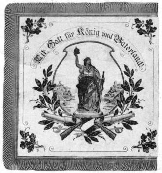 Rückseite Flagge von 1912