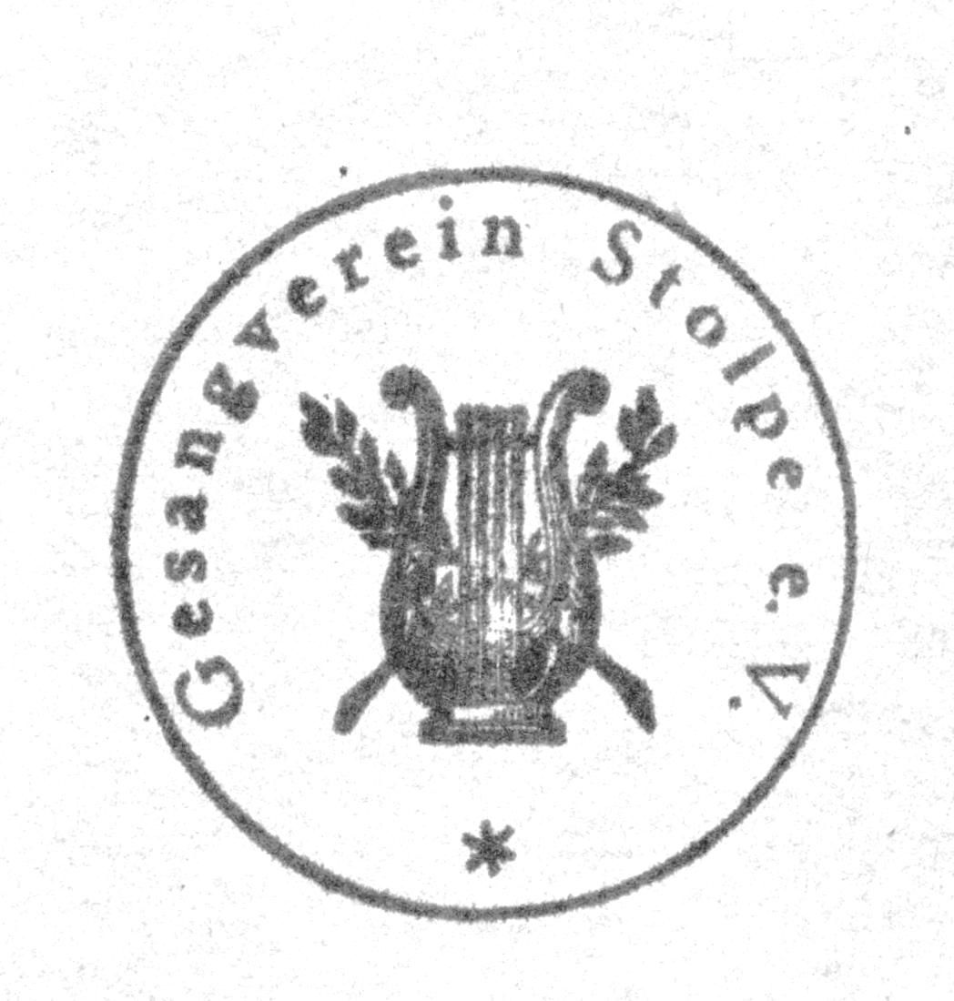 Stempel Gesangverein Stolpe e.V.