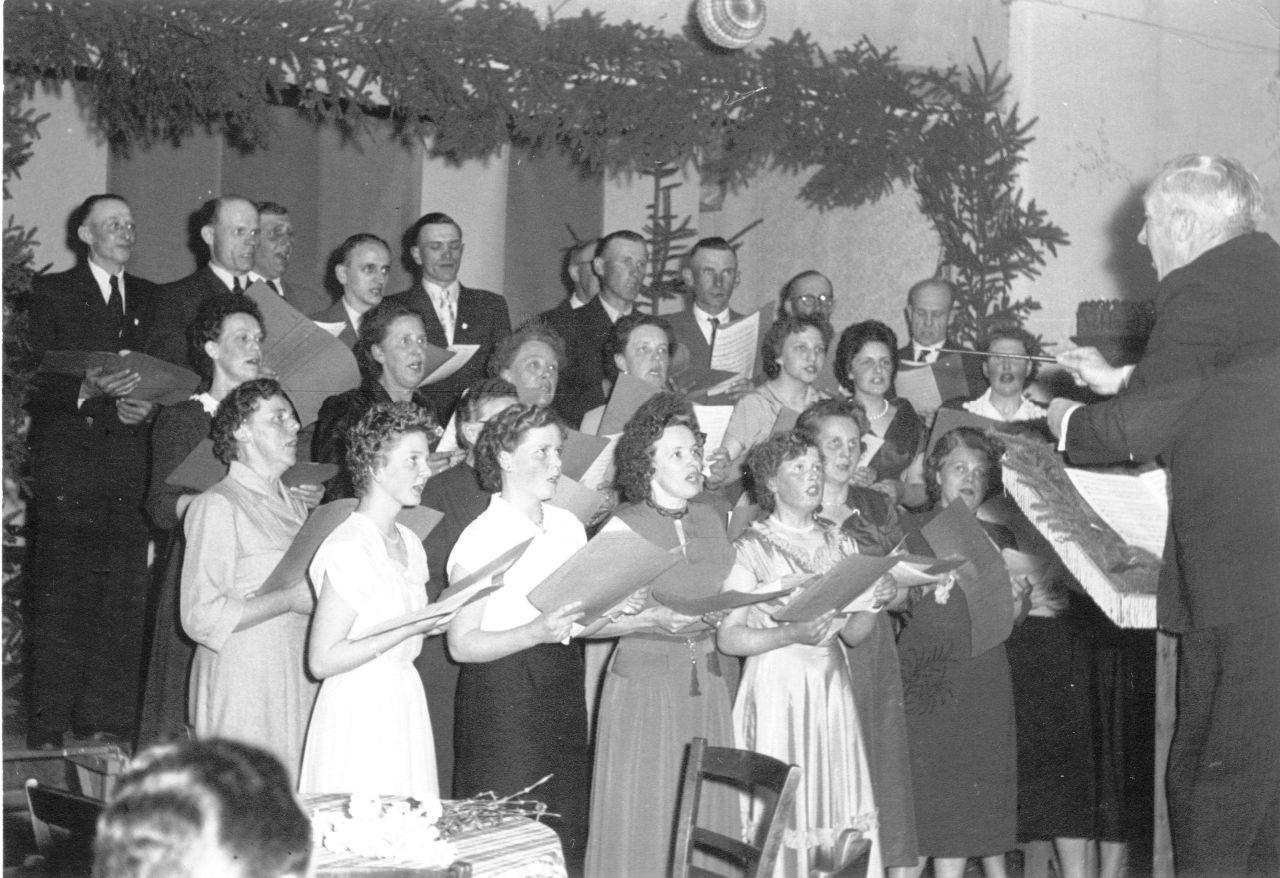 Stolper Gesangvereinball 1955 im Pfeifenkopf