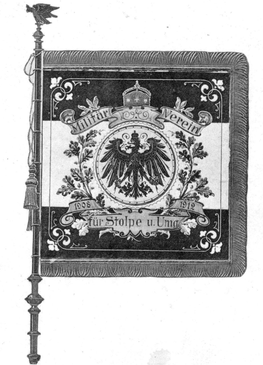 Vorderseite Flagge von 1912