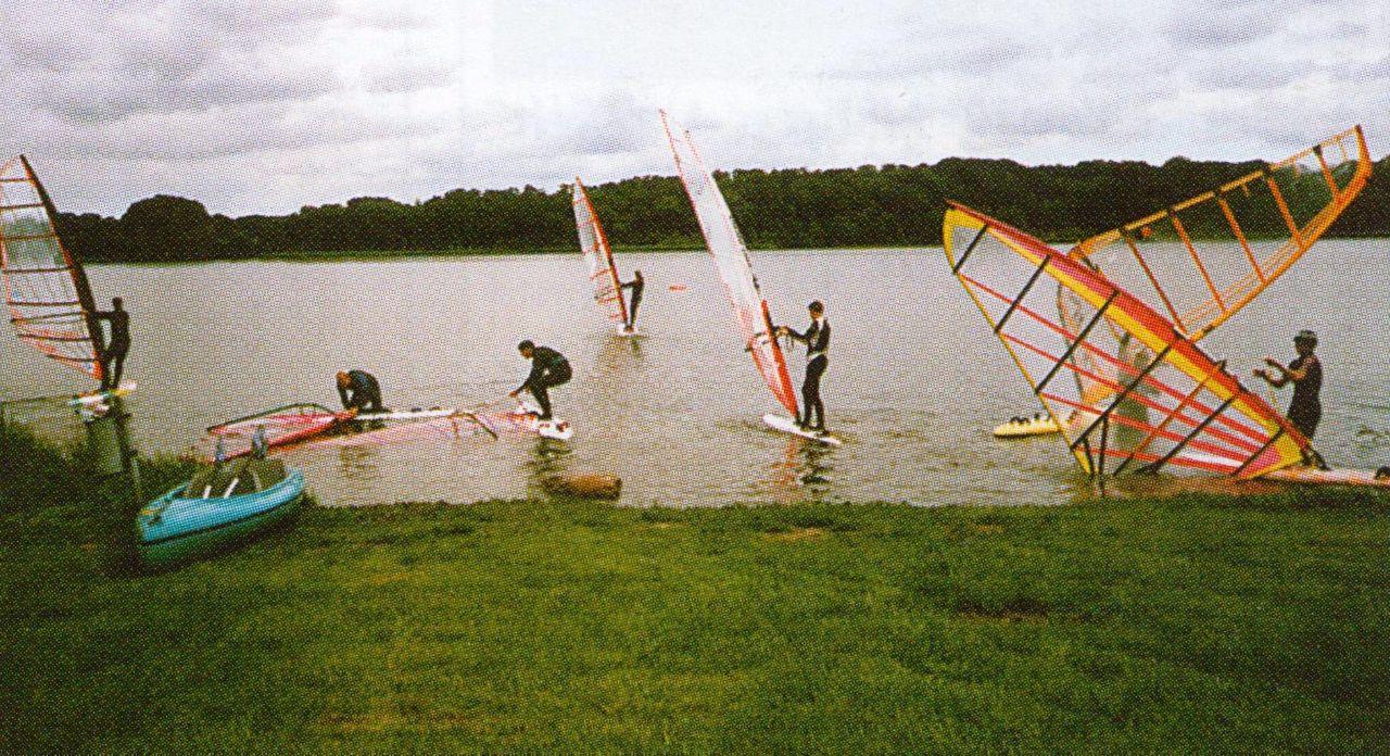 Windsurfen am Stolper See
