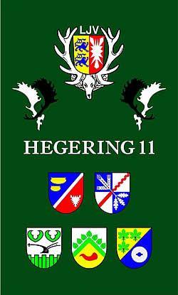 Fahne Hegering 11