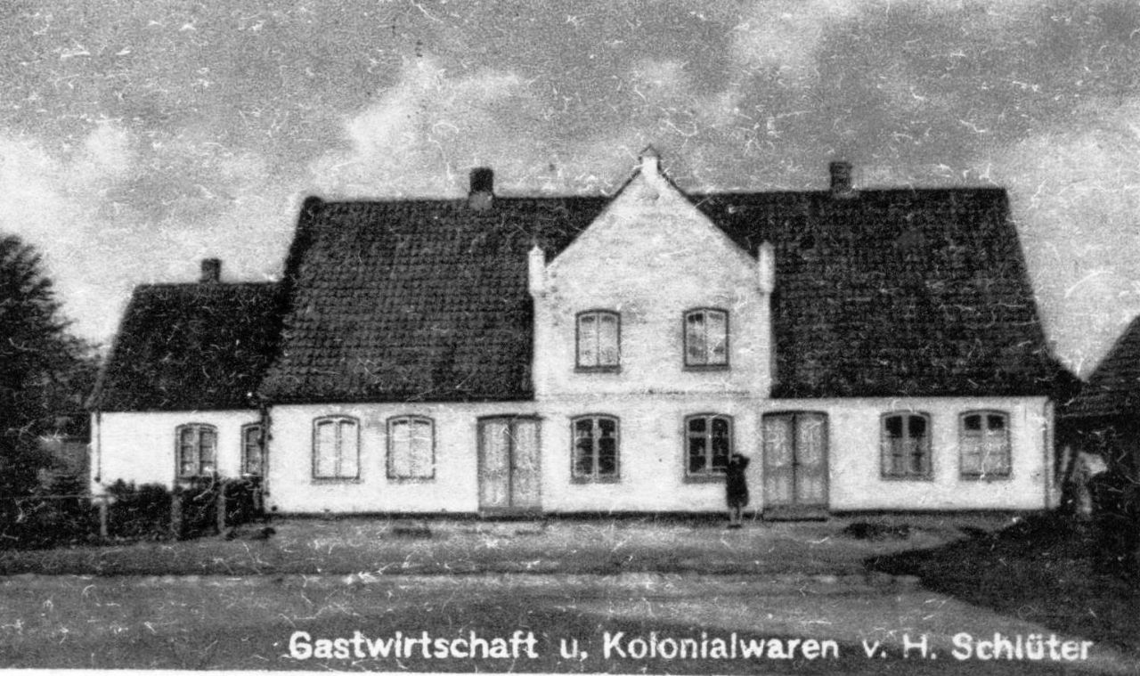 Gastwirtschaft H. Schlüter 1950