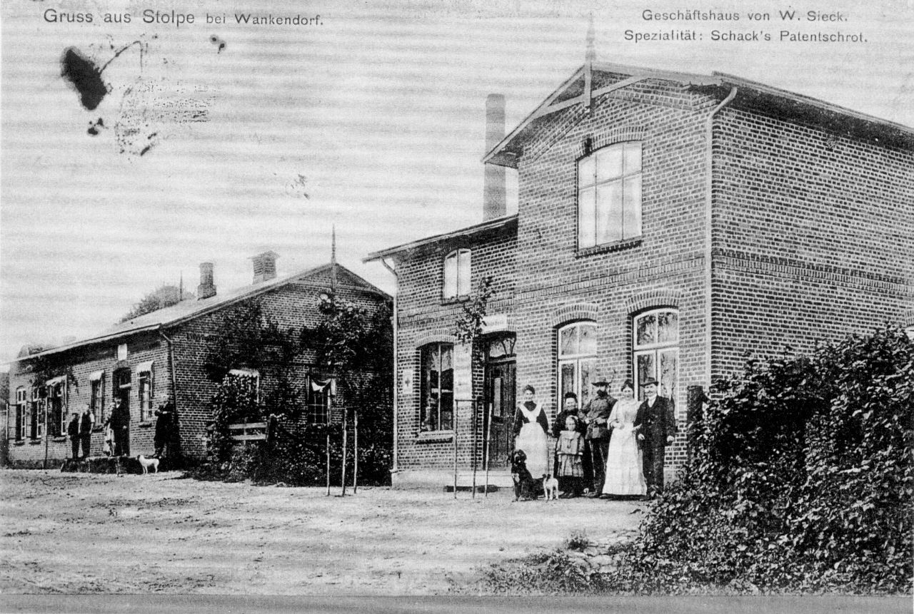 Kaufhaus Sieck um 1910
