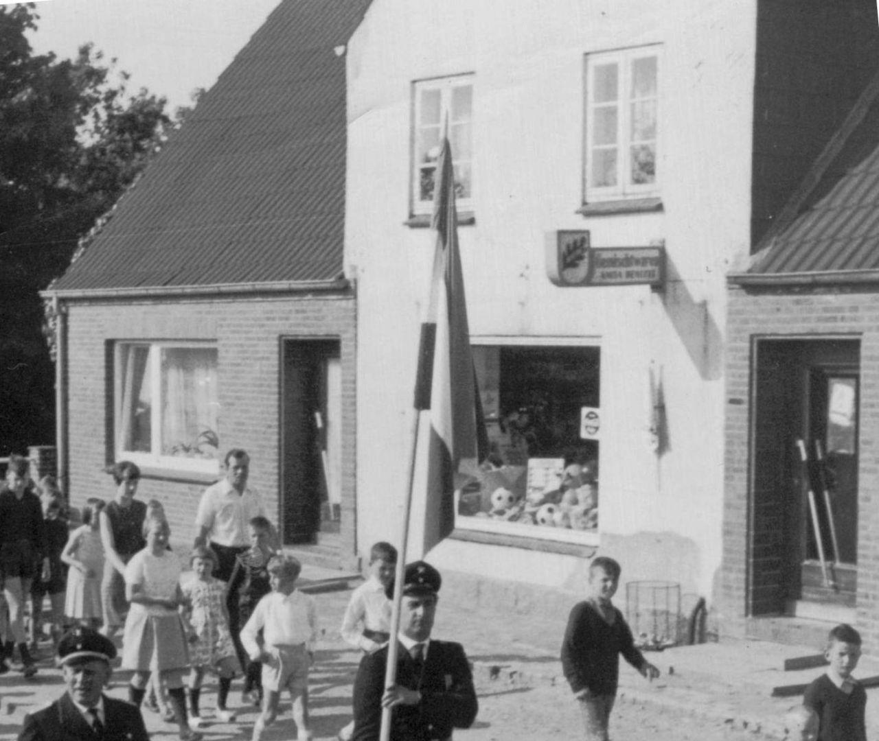 Kolonialwarenladen Schlüter 1967
