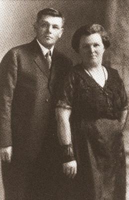 Otto Riecken und Mary Friedrichsen