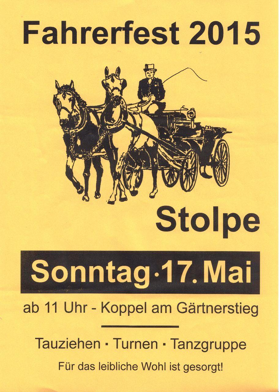 Plakat Fahrerfest