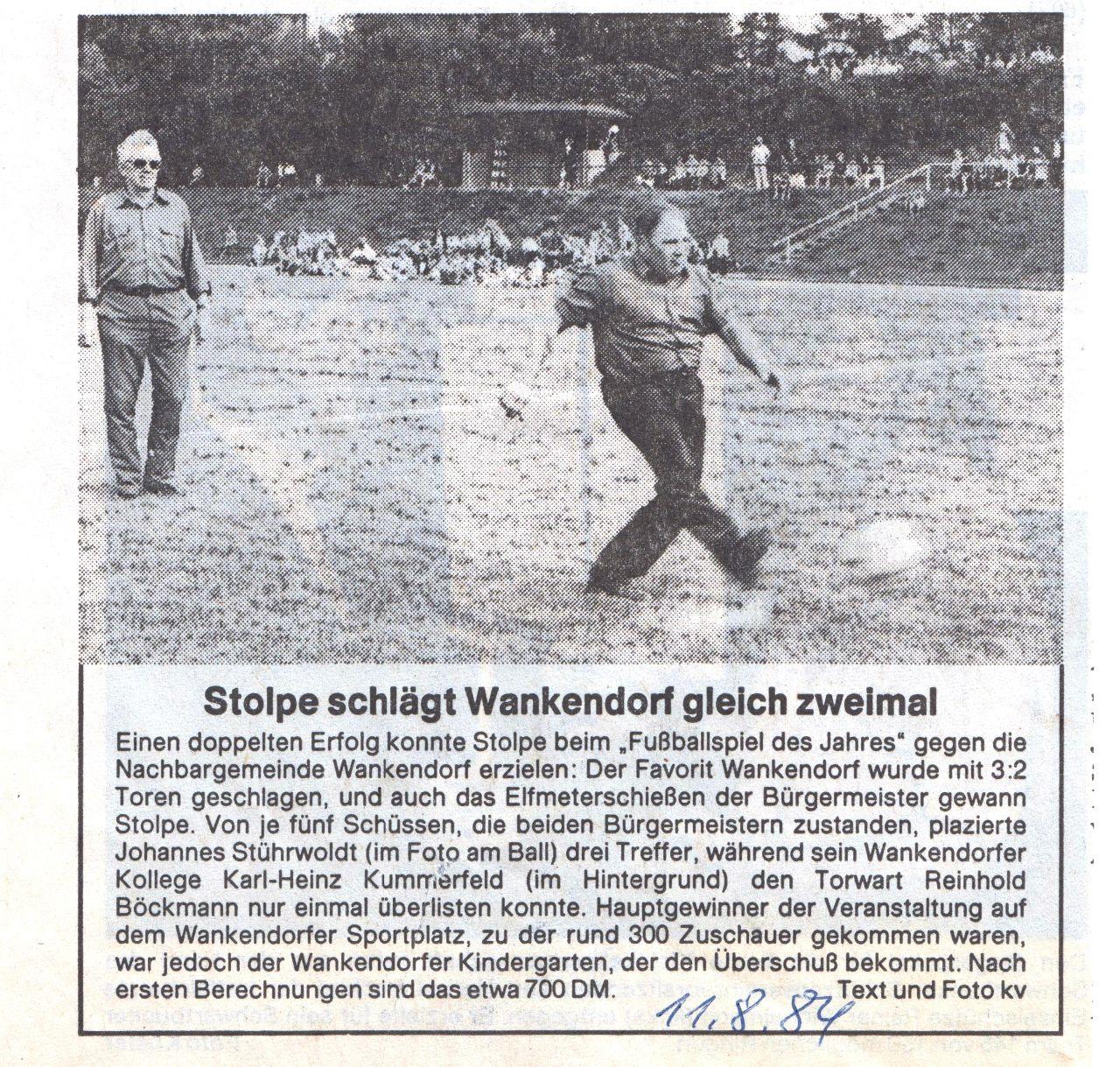 Fußballduell