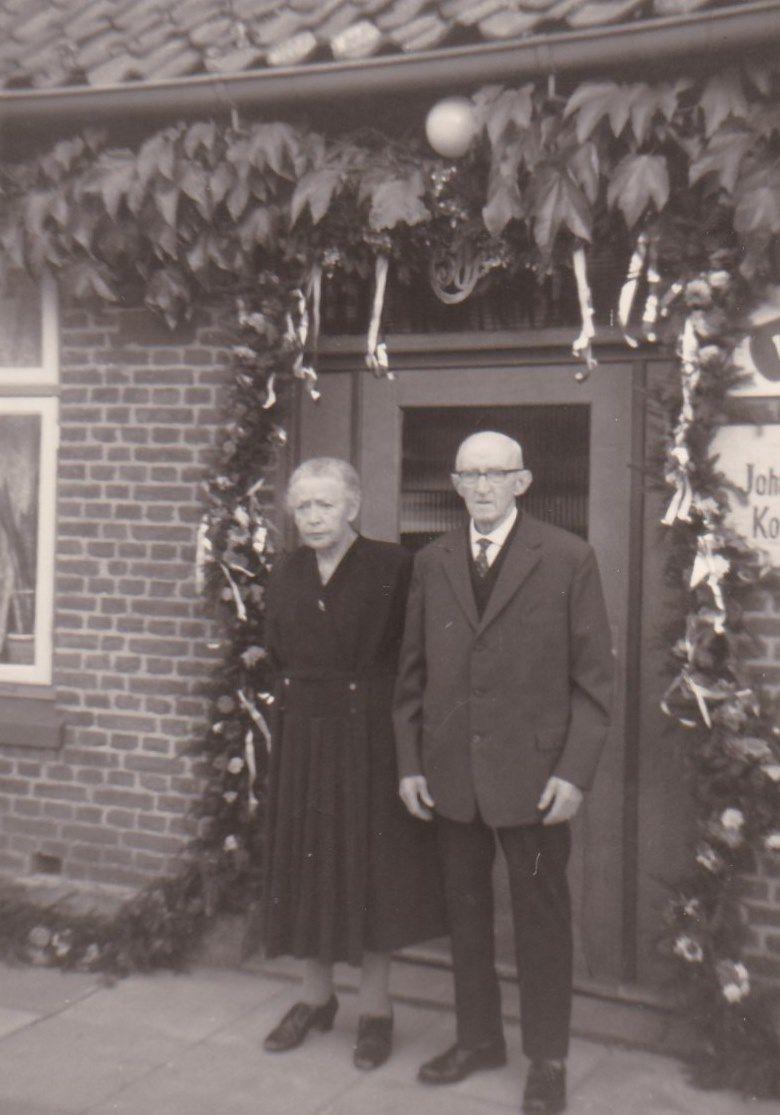 Martha und Hermann Trede 1964