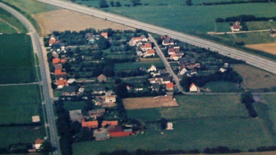 Kampsiedlung Luftbild 1984
