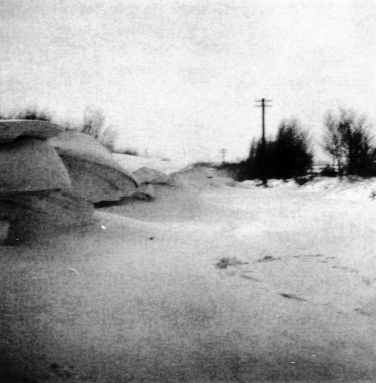Schneeverwehungen 1969