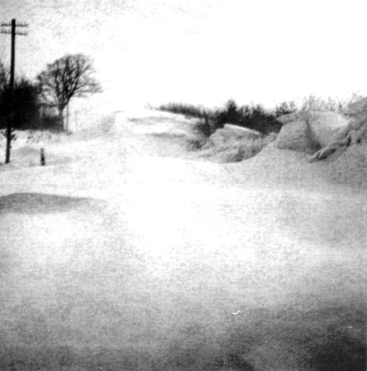 Schneeverwehungen Timmerbarg