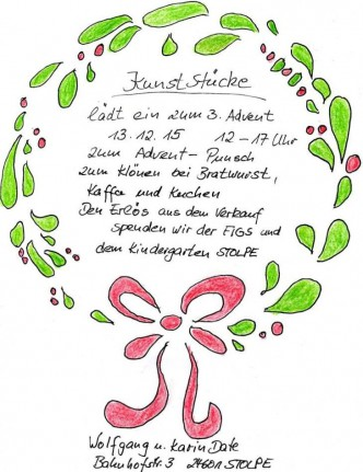 Plakat Advents-Punsch