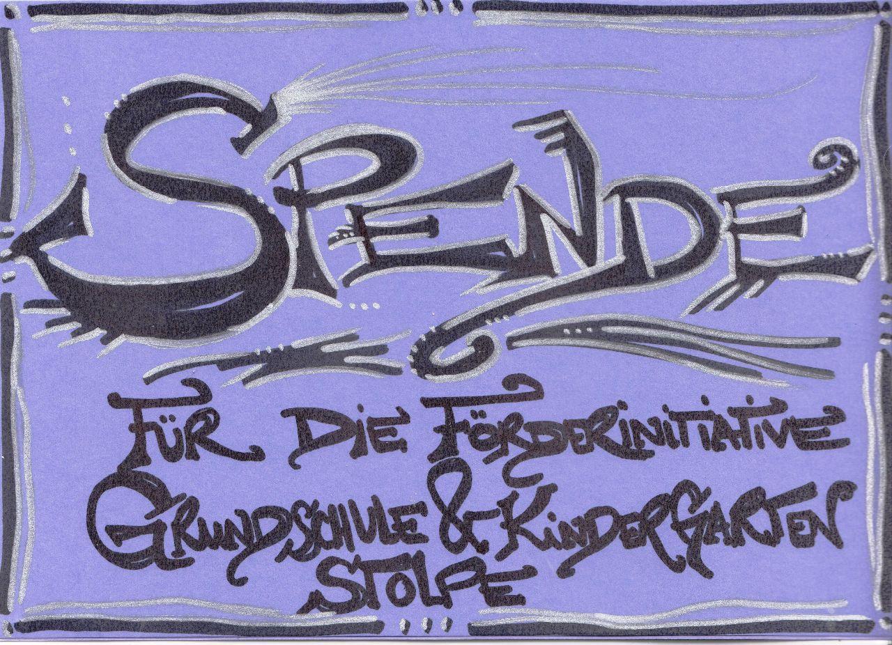 Spende Lena Zeichnung