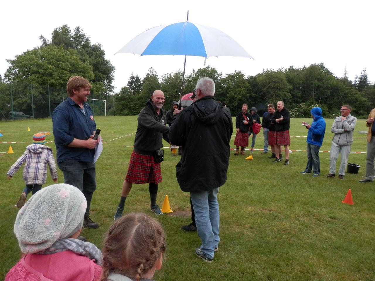 1. Sieger: Die Highlander