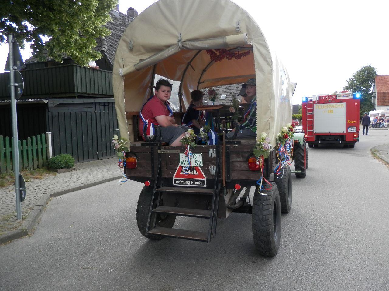 Der Königswagen für die Großen