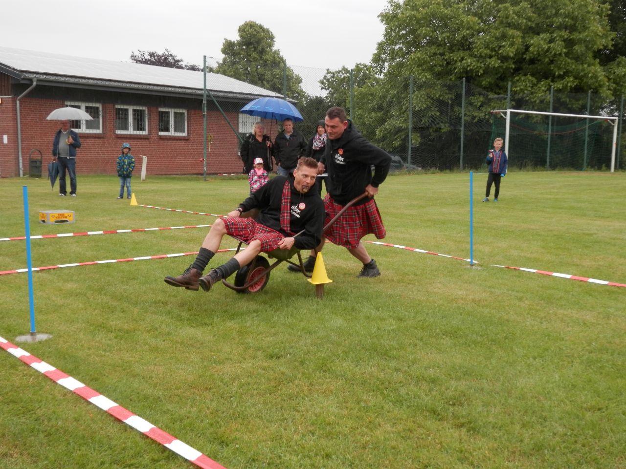 Voller Einsatz der Highlander