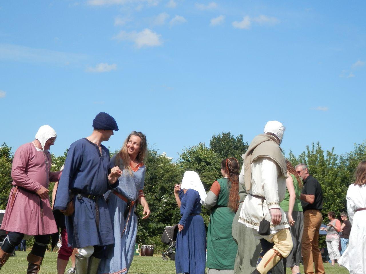 Mittelalterlicher Tanz für alle