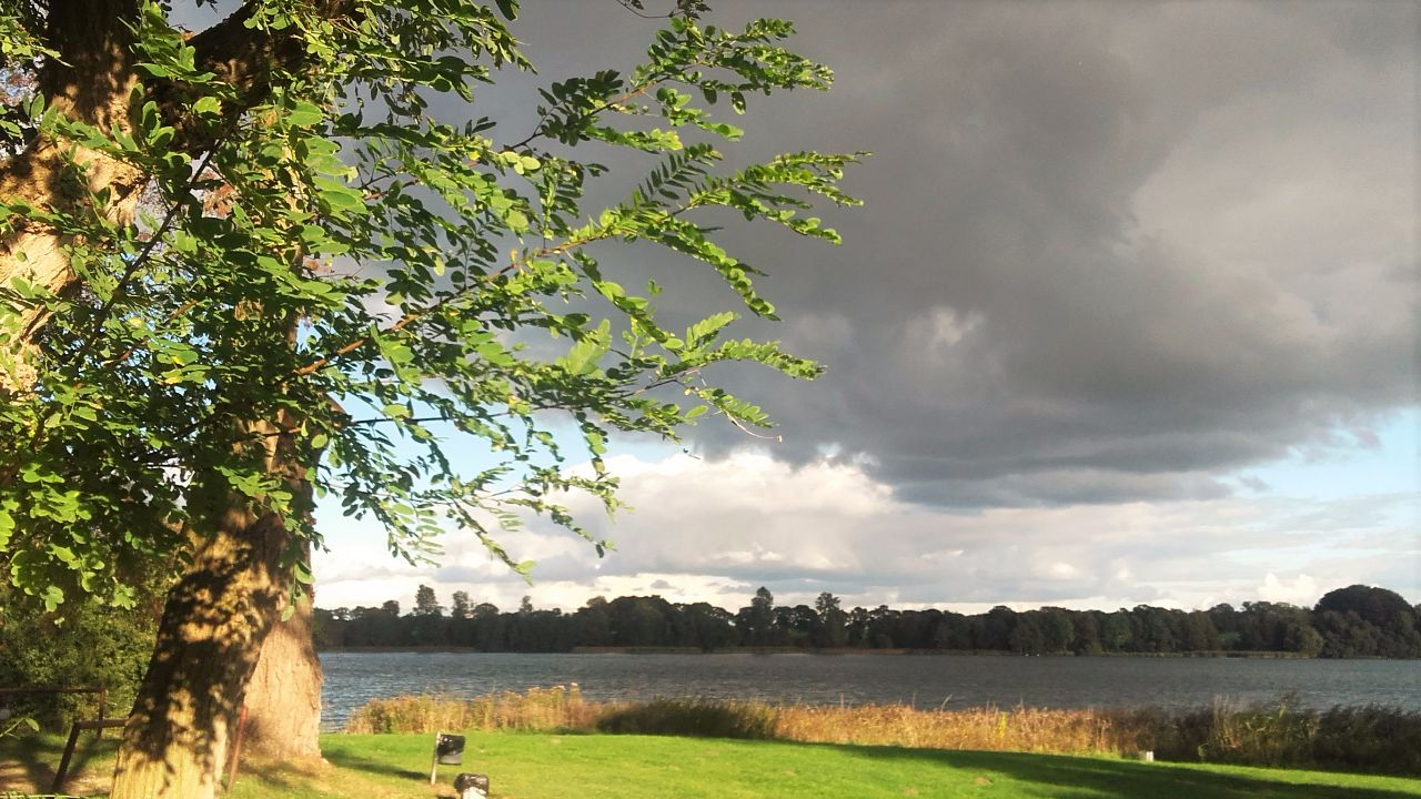 Dramatische Wolken