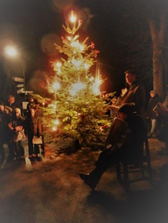 Lieder am Weihnachtsbaum