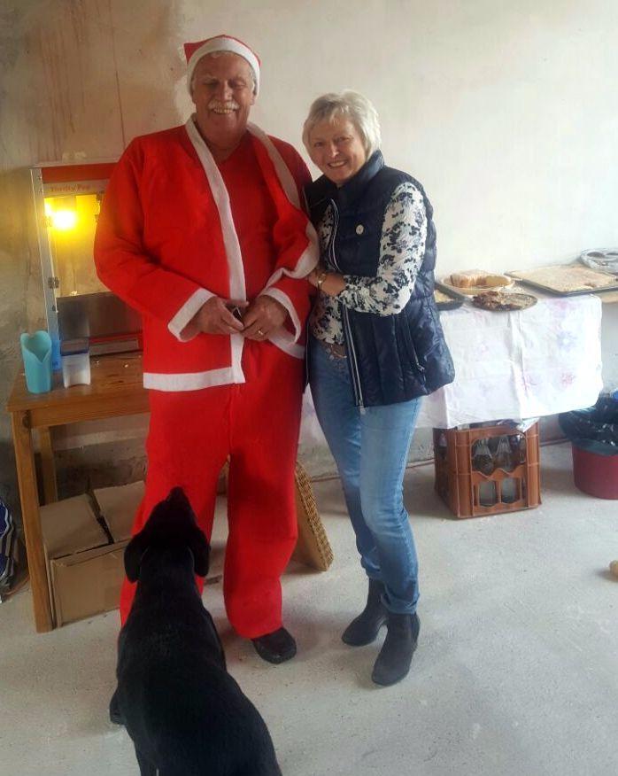 Der Weihnachtsmann war auch da