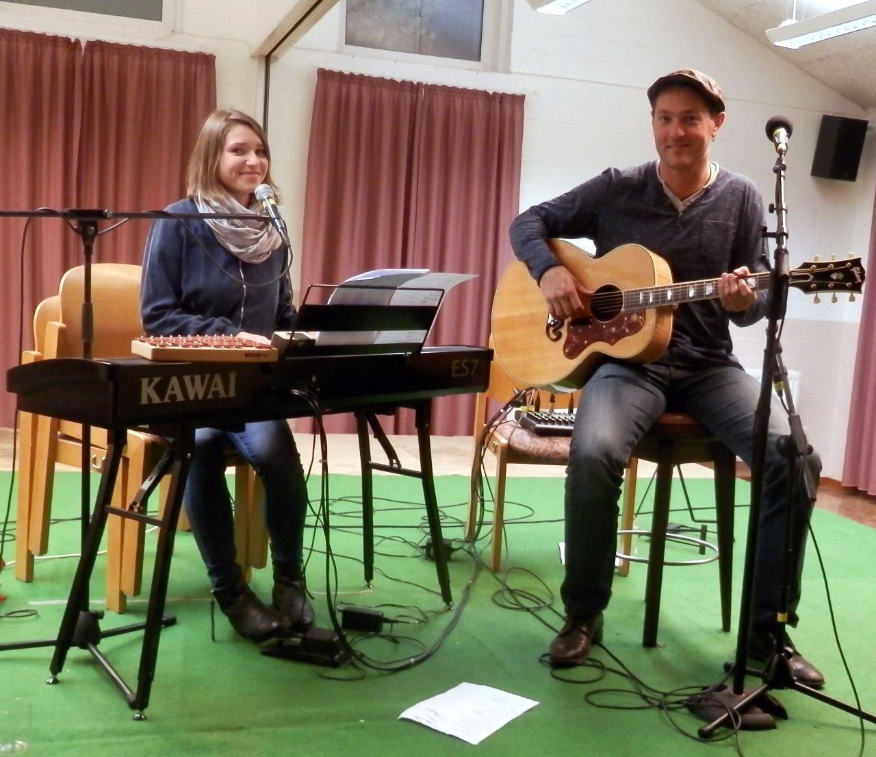 Gerrit Hoss und Rike Kinnemann