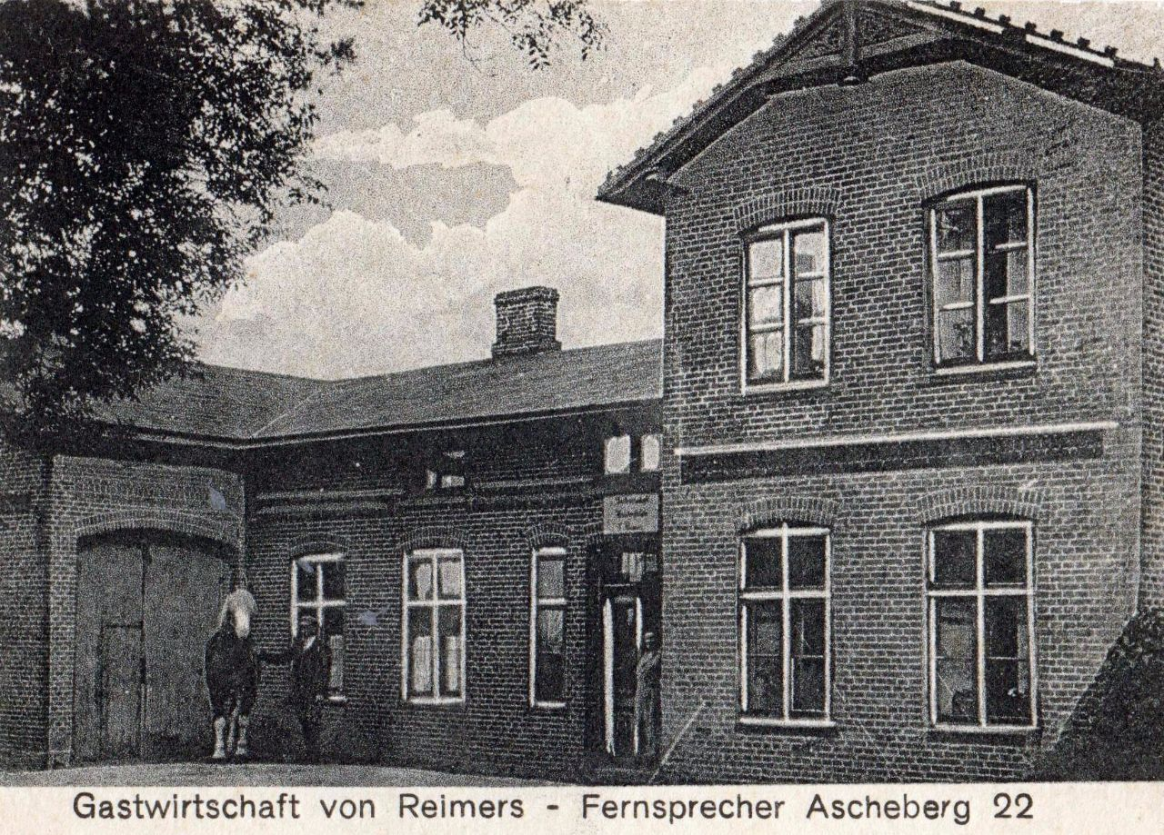 Gastwirtschaft Reimers 1937