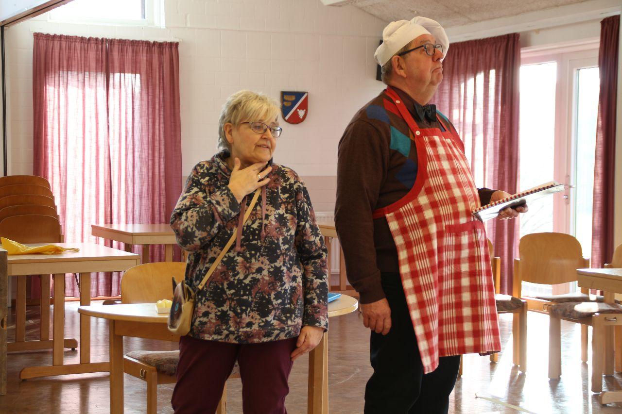Friedhelm Klinke und Heinke Gebhard