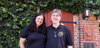 Dr. Frank Rudolph und Katrin Mohr