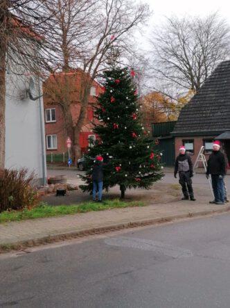 Der Baum ist fertig